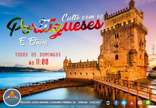 Culto com os Portugueses e Etnias